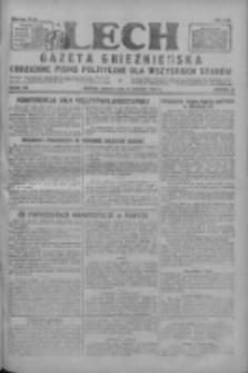 Lech.Gazeta Gnieźnieńska: codzienne pismo polityczne dla wszystkich stanów 1927.08.27 R.29 Nr195