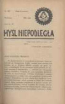 Myśl Niepodległa 1928 Nr922