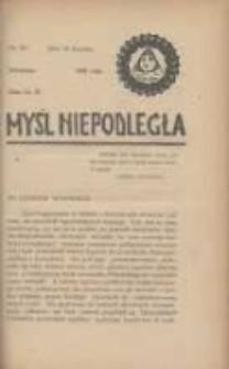Myśl Niepodległa 1928 Nr931
