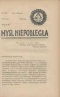 Myśl Niepodległa 1928 Nr942