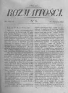Rozmaitości. Pismo Dodatkowe do Gazety Lwowskiej. 1822 R.2 nr6