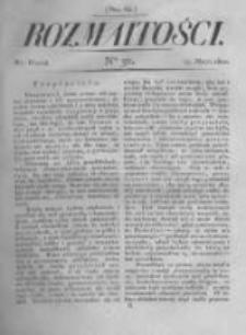 Rozmaitości. Pismo Dodatkowe do Gazety Lwowskiej. 1822 R.2 nr32