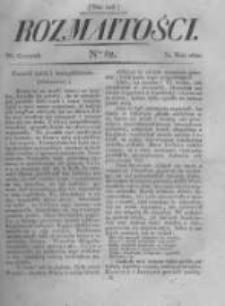 Rozmaitości. Pismo Dodatkowe do Gazety Lwowskiej. 1822 R.2 nr62