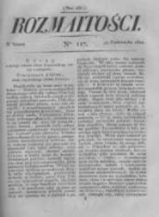 Rozmaitości. Pismo Dodatkowe do Gazety Lwowskiej. 1822 R.2 nr117
