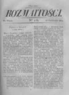 Rozmaitości. Pismo Dodatkowe do Gazety Lwowskiej. 1822 R.2 nr118
