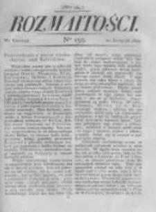 Rozmaitości. Pismo Dodatkowe do Gazety Lwowskiej. 1822 R.2 nr134