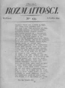 Rozmaitości. Pismo Dodatkowe do Gazety Lwowskiej. 1822 R.2 nr139
