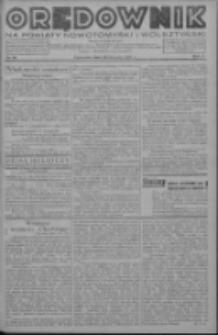 Orędownik na powiaty nowotomyski i wolsztyński 1936.08.20 R.17 Nr94