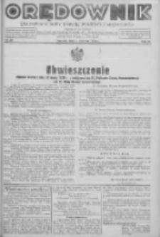 Orędownik na powiaty Nowy Tomyśl, Wolsztyn i Międzychód 1939.04.04 R.20 Nr39