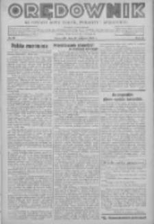 Orędownik na powiaty Nowy Tomyśl, Wolsztyn i Międzychód 1939.08.17 R.20 Nr90
