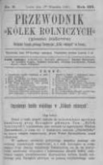 """Przewodnik """"Kółek rolniczych"""". Pismo Ludowe. R. III. 1891. Nr 9"""