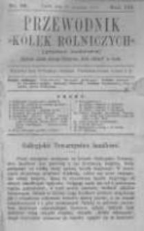 """Przewodnik """"Kółek rolniczych"""". Pismo Ludowe. R. III. 1891. Nr 12"""