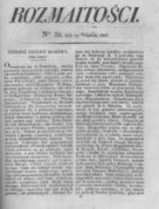 Rozmaitości. Pismo Dodatkowe do Gazety Lwowskiej. 1826 R.5 nr39