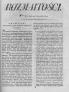 Rozmaitości. Pismo Dodatkowe do Gazety Lwowskiej. 1826 R.5 nr46