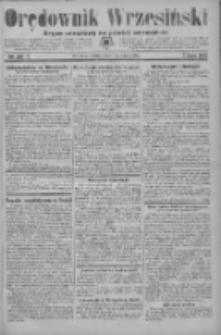 Orędownik Wrzesiński: organ urzędowy na powiat wrzesiński 1934.02.17 R.16 Nr20