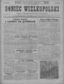 Goniec Wielkopolski: najstarszy i najtańszy niezależny dziennik demokratyczny 1930.11.05 R.54 Nr256