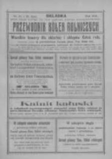 """Przewodnik """"Kółek rolniczych"""". R. XXIV. 1910. Nr 21"""