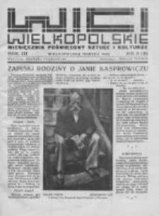 Wici Wielkopolskie. 1933 R.3 nr3