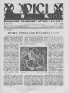 Wici Wielkopolskie. 1934 R.4 nr11