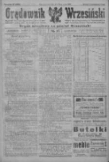 Orędownik Wrzesiński: organ urzędowy na powiat wrzesiński 1922.03.23 R.4 Nr35