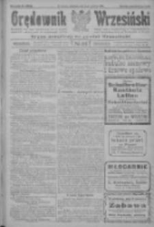 Orędownik Wrzesiński: organ urzędowy na powiat wrzesiński 1922.06.08 R.4 Nr66