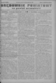 Orędownik powiatowy na powiat wrzesiński 1922.10.10 R.4 Nr119