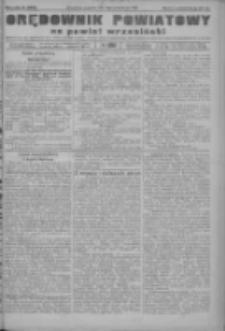 Orędownik powiatowy na powiat wrzesiński 1922.10.12 R.4 Nr120