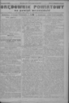 Orędownik powiatowy na powiat wrzesiński 1922.10.14 R.4 Nr121