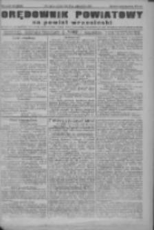 Orędownik powiatowy na powiat wrzesiński 1922.10.17 R.4 Nr122