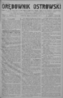 Orędownik Ostrowski: pismo na powiat ostrowski i miasto Ostrów, Odolanów, Mikstat, Sulmierzyce, Raszków i Skalmierzyce 1937.06.15 R.86 Nr48