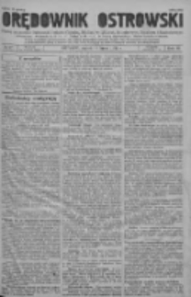 Orędownik Ostrowski: pismo na powiat ostrowski i miasto Ostrów, Odolanów, Mikstat, Sulmierzyce, Raszków i Skalmierzyce 1937.07.16 R.86 Nr57