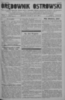 Orędownik Ostrowski: pismo na powiat ostrowski i miasto Ostrów, Odolanów, Mikstat, Sulmierzyce, Raszków i Skalmierzyce 1937.07.27 R.86 Nr60