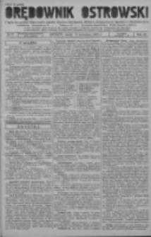 Orędownik Ostrowski: pismo na powiat ostrowski i miasto Ostrów, Odolanów, Mikstat, Sulmierzyce, Raszków i Skalmierzyce 1937.09.15 R.86 Nr77