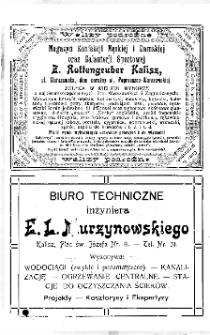 Kalendarz Kaliski na na rok 1914