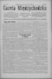 Gazeta Międzychodzka: niezależne pismo narodowe, społeczne i polityczne 1926.03.03 R.4 Nr25