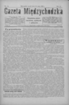 Gazeta Międzychodzka: niezależne pismo narodowe, społeczne i polityczne 1926.05.14 R.4 Nr54