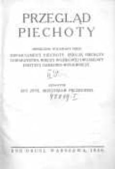 Przegląd Piechoty: miesięcznik wydawany przez Departament Piechoty, Sekcję Piechoty Towarzystwa Wiedzy Wojskowej i Wojskowy Instytut Naukowo-Wydawniczy 1929 lipiec R.2 Z.7
