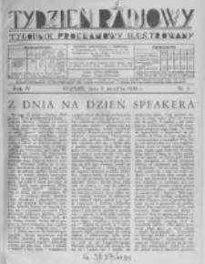 Tydzień Radjowy. 1930 R.4 nr1