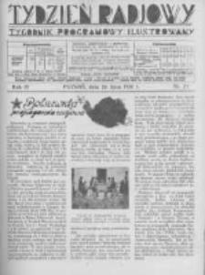 Tydzień Radjowy. 1930 R.4 nr29