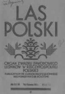 Las Polski. 1931 R.11 nr5-6