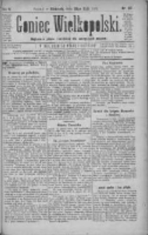 Goniec Wielkopolski: najtańsze pismo codzienne dla wszystkich stanów 1881.05.22 R.5 Nr117