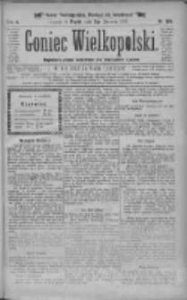 Goniec Wielkopolski: najtańsze pismo codzienne dla wszystkich stanów 1881.06.03 R.5 Nr126 (numer nadzwyczajny)