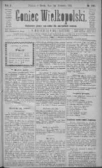Goniec Wielkopolski: najtańsze pismo codzienne dla wszystkich stanów 1881.09.07 R.5 Nr205