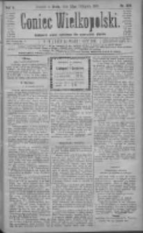 Goniec Wielkopolski: najtańsze pismo codzienne dla wszystkich stanów 1881.11.23 R.5 Nr268