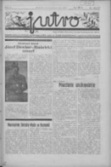 Jutro: organ Związku Weteranów Powstań Narodowych R.P. 1914/19: tygodnik poświęcony aktualnym zagadnieniom polskim, oparty na ideologji niepodległościowej i powstańczej Polski Zachodniej 1937.10.31 R.2 Nr42(59)