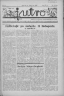 Jutro: organ Związku Weteranów Powstań Narodowych R.P. 1914/19: tygodnik poświęcony aktualnym zagadnieniom polskim, oparty na ideologji niepodległościowej i powstańczej Polski Zachodniej 1937.11.14 R.2 Nr44(61)