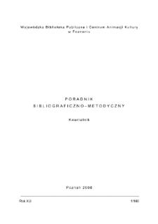Poradnik Bibliograficzno-Metodyczny : 2008 z.1