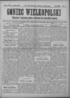 Goniec Wielkopolski: najtańsze i najstarsze pismo codzienne dla wszystkich stanów 1901.01.08 R.25 Nr6