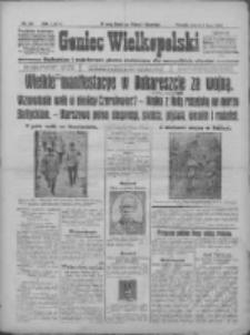Goniec Wielkopolski: najtańsze i najstarsze pismo codzienne dla wszystkich stanów 1915.07.06 R.38 Nr150