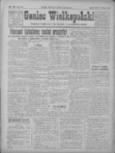 Goniec Wielkopolski: najtańsze pismo codzienne dla wszystkich stanów 1922.06.03 R.45 Nr126